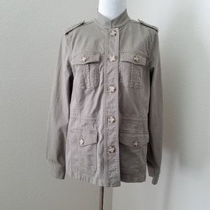 L.L. Bean Size Small Olive Green Utility Jacket